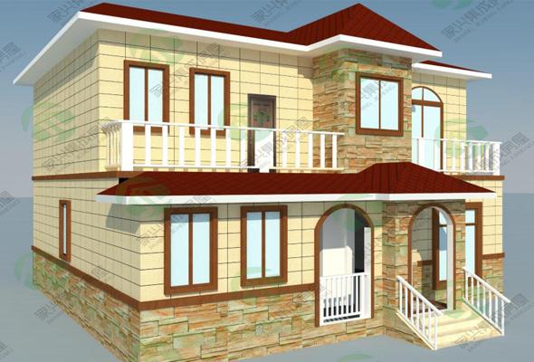 轻钢房屋在建中....
