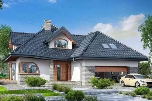 美式轻钢别墅一层楼
