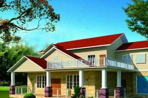 轻钢结构美式别墅