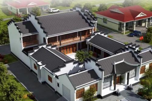 中式轻钢结构别墅