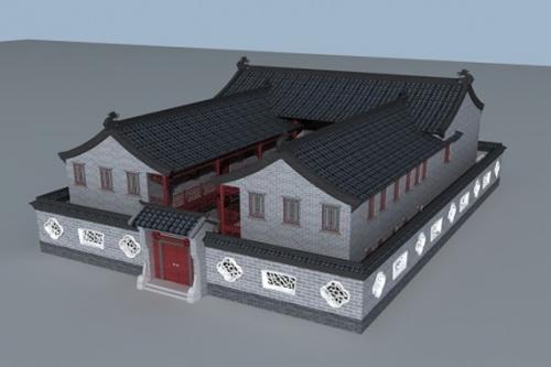 中式轻钢别墅